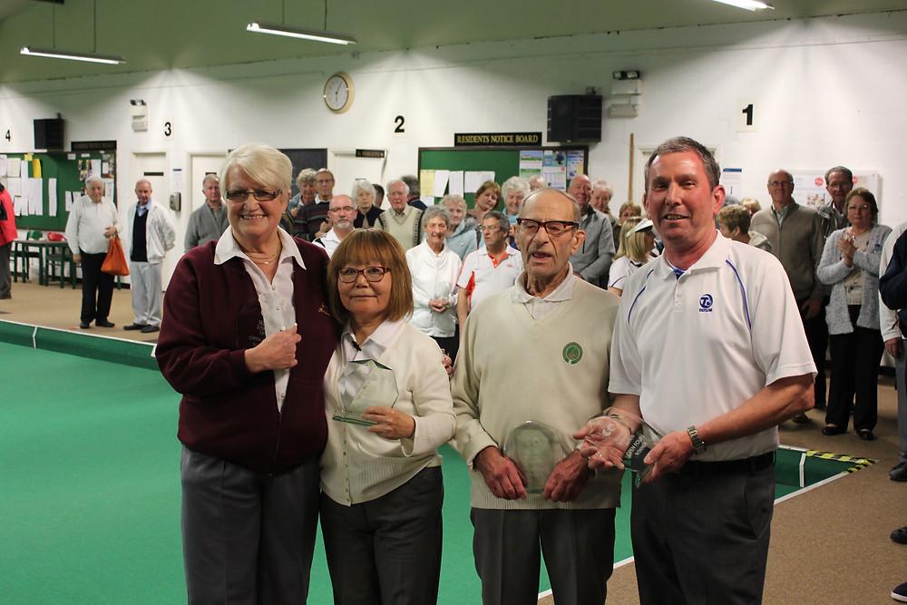 Joan, Tiger, Cyril & Keith