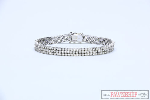 Modern 6.00ct Diamond Tennis Bracelet