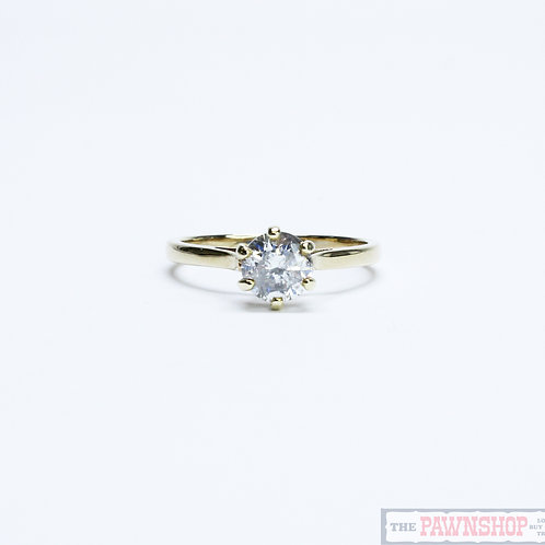 Modern 1.02ct Solitaire Diamond Ring