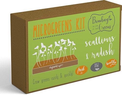 DIY Microgreens Kit - Scallions & Radish
