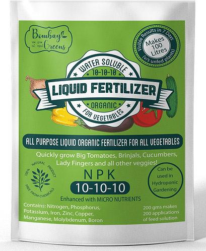Liquid Organic Fertilizer for Vegetables - NPK (10-10-10)