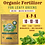 Thumbnail: Leafy Greens Organic Liquid Fertilizer- NPK (10-10-10)