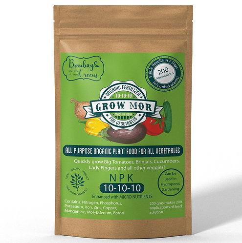 All Vegetables Organic Liquid Fertilizer - NPK (10-10-10)