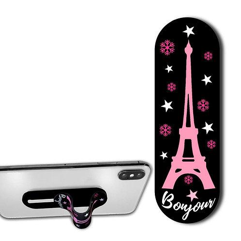 Finger Grip & Selfie Holder - Eiffel Tower