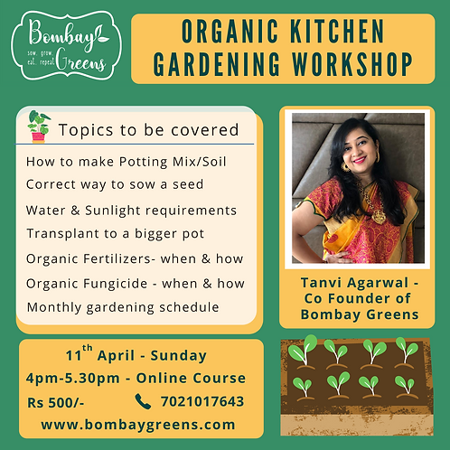 Kitchen Gardening Workshop