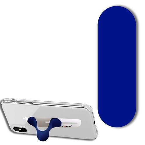 Regor Finger Grip,Selfie Holder Mobile Stand for iPhones & Android - Blue