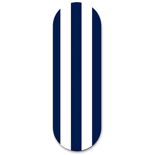 Finger Grip & Selfie Holder  -Navy Stripes