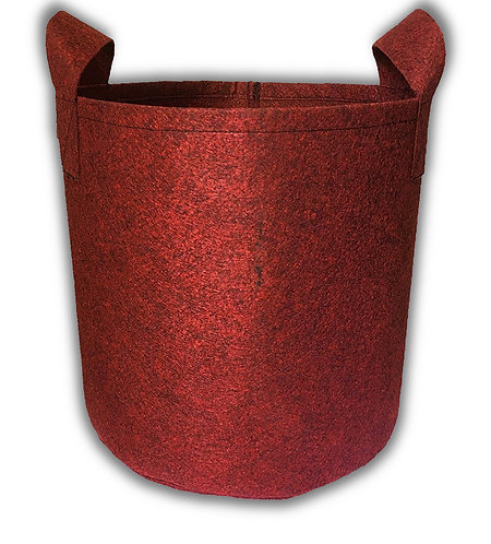 Geo Fabric Grow Bags 350 GSM - Maroon