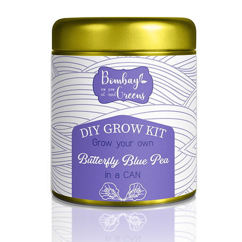 Sow in a Can - Butterfly Pea Flower