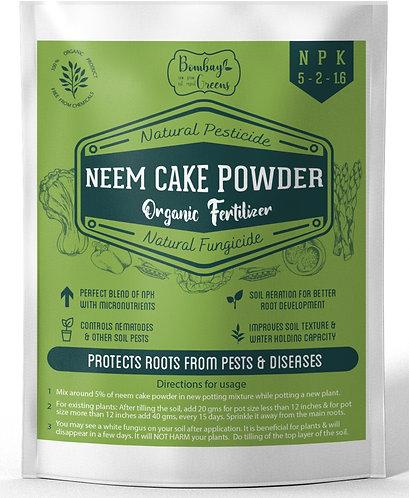 Organic Neem Cake Powder - 900 Grams