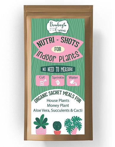 Organic Nutri-Shots for Indoor Plants - 10 Sachets