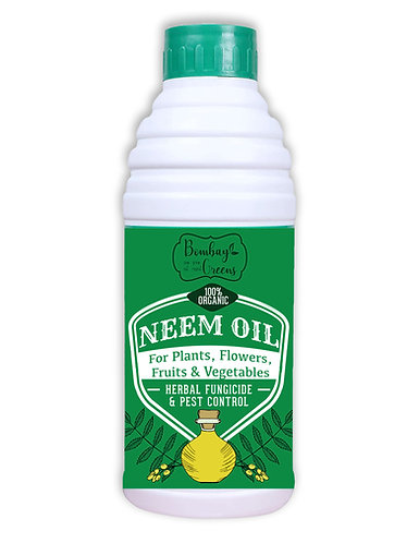 Cold Pressed Organic Neem Oil - 250 ML