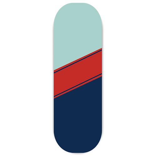 Regor Finger Grip,Selfie Holder Mobile Stand for iPhones & Android - Stripes