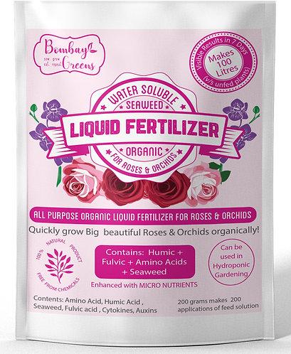 Liquid Organic Fertilizer for Roses & Orchids