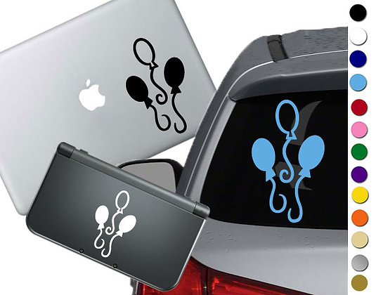 My Little Pony Pinkie Pie Cutie Mark - Vinyl Decal For cars, laptops, and more!