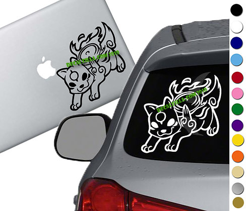 Okami - Vinyl Decal Sticker - For cars, laptops, and more!