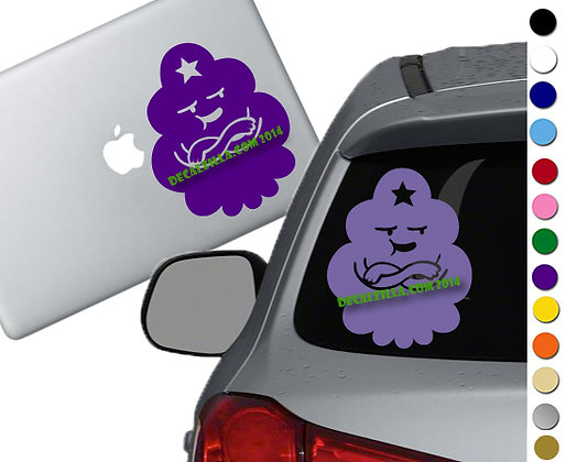 Adventure Time - LSP - Vinyl Decal Sticker - For cars, laptops, and more!