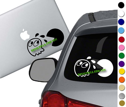 SALE! Pac Man -Vinyl Decal Sticker For cars, laptops, and more!