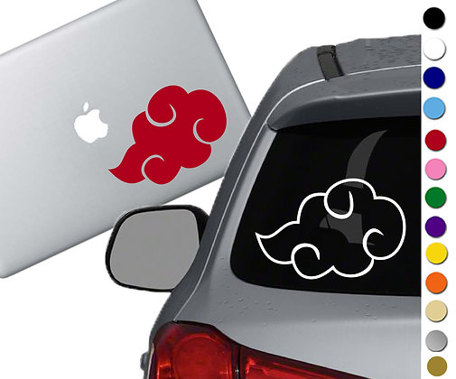 Naruto- Akatsuki - Vinyl Decal Sticker - For cars, laptops, and more!