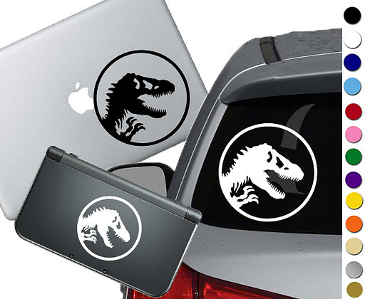 Jurassic Park- Vinyl Decal Sticker For cars, laptops, and more!
