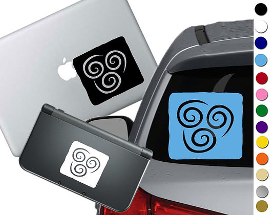 Avatar The Last Airbender- Air - Vinyl Decal For cars, laptops, and more!
