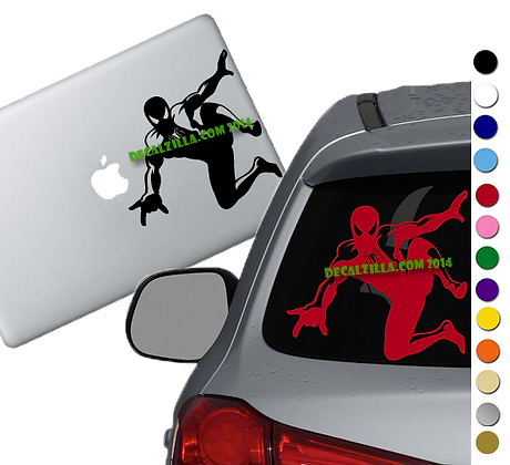 Spiderman- Vinyl Decal Sticker - For cars, laptops, and more!
