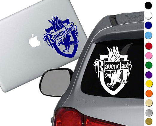 Harry Potter- Ravenclaw Emblem- Vinyl Decal Sticker - For car, laptops, and more