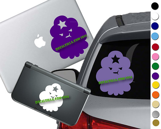"""Sale! 1.5""""Lumpy Space Princess -Mini Vinyl Decal Sticker For laptop and more!"""