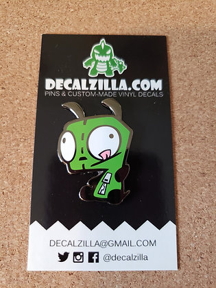 Invader Zim- Gir - Hard Enamel Pin For Clothes, Backpacks and more!