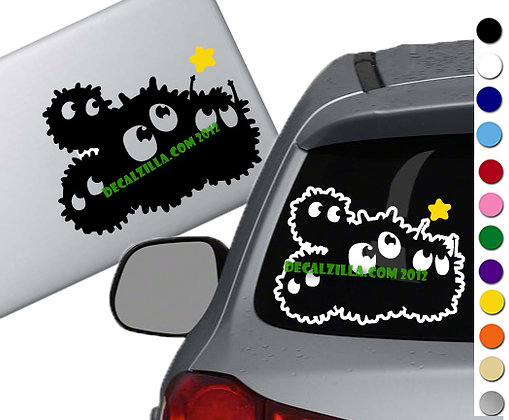 Soot Sprites - Vinyl Decal Sticker - For cars, laptops, and more!