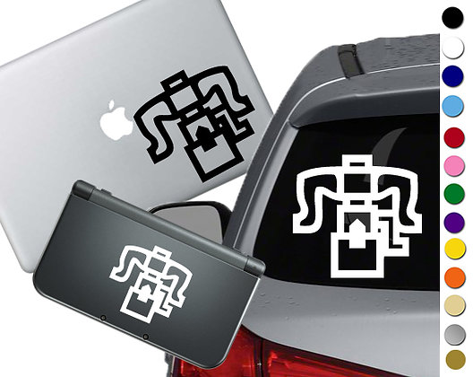 Monster Hunter Weapon- Heavy Bow Gun - Vinyl Decal Sticker For cars and more!