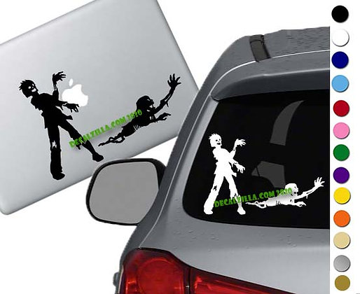 Zombies - Vinyl Decal Sticker - For cars, laptops and more!