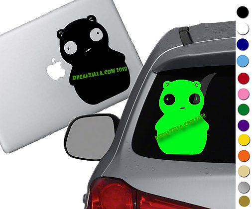 Bob's Burgers - Kuchi - Vinyl Decal Sticker - For cars, laptops, and more!