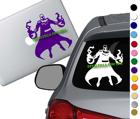 X Men - Magneto - Vinyl Decal Sticker - For cars, laptops, and more!