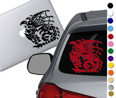 Monster Hunter Rathalos - Vinyl Decal Sticker - For cars, laptops, and more!