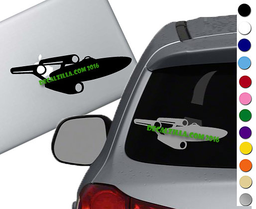 Star Trek - Enterprise - Vinyl Decal Sticker - For cars, laptops and more!
