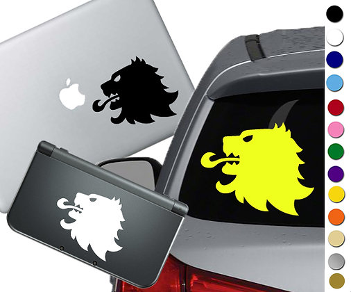 """Sale! 1.5"""" GOT Lannister -Mini Vinyl Decal Sticker For cars, laptops, and more!"""