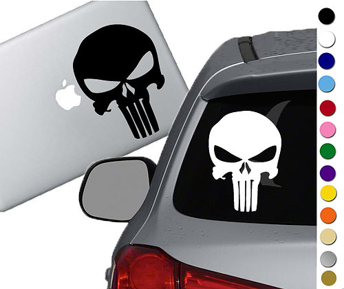 Punisher - Vinyl Decal Sticker - For cars, laptops, and more!