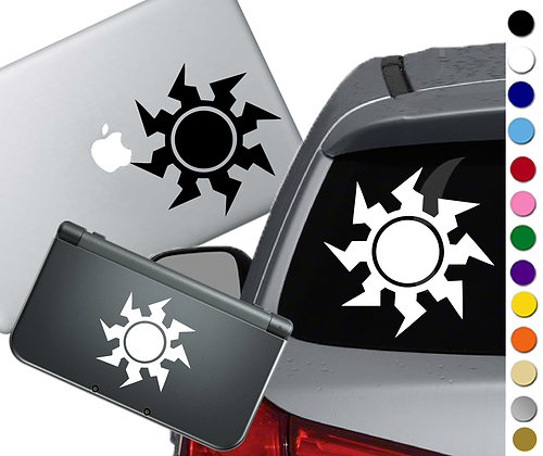 "Sale! 1.5"" Magic Plains -Mini Vinyl Decal Sticker For laptops and more!"