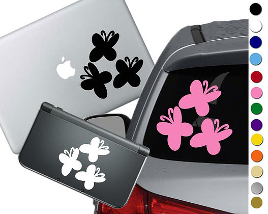 My Little Pony Fluttershy Cutie Mark - Vinyl Decal For cars, laptops, and more!