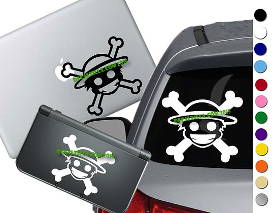One Pirate Mini - Vinyl Decal Sticker For cars, laptops, and more!