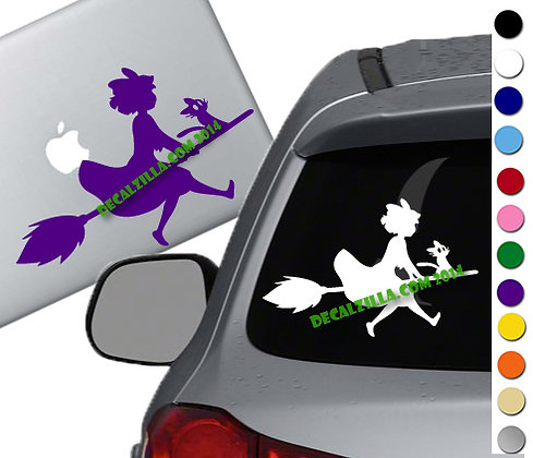 Kiki's Delivery Service - Vinyl Decal Sticker - For cars, laptops, and more!