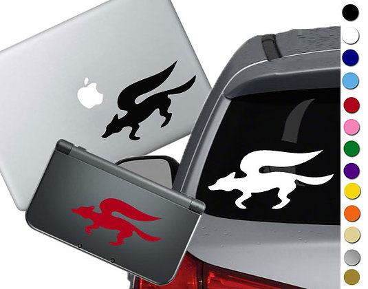 "Sale! 1.5"" Starfox -Mini Vinyl Decal Sticker For laptops and more!"
