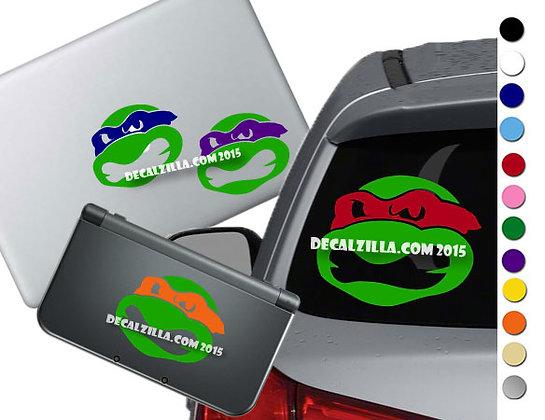 Teenage Mutant Ninja Turtles Mini - Vinyl Decal For cars, laptops, and more!