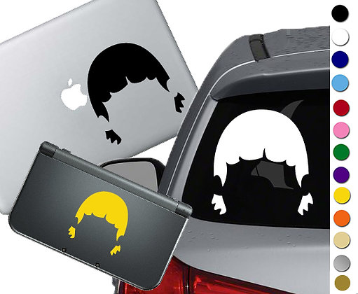 Bob's Burgers - Gene - Vinyl Decal Sticker For cars, laptops, and more!