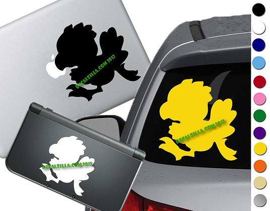 Final Fantasy - Chocobo - Vinyl Decal Sticker For cars, laptops, and more!