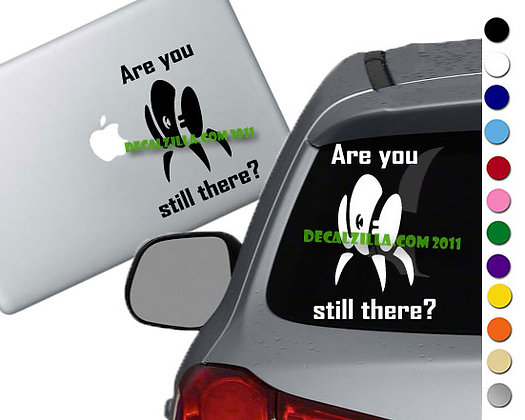 Sale! Portal Turret-Vinyl Decal Sticker For cars, laptops, and more!