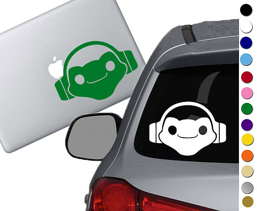 Overwatch - Lucio - Vinyl Decal Sticker - For cars, laptops, and more!