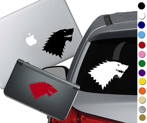 "Sale! 1.5"" GOT Stark  -Mini Vinyl Decal Sticker For laptops and more!"