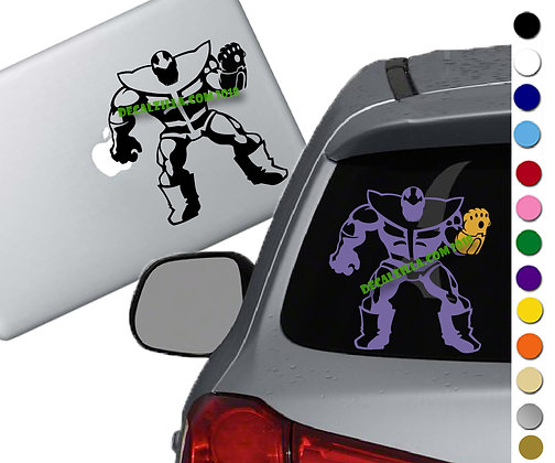 Thanos Infinity Gauntlet - Vinyl Decal Sticker - For cars, laptops, and more!